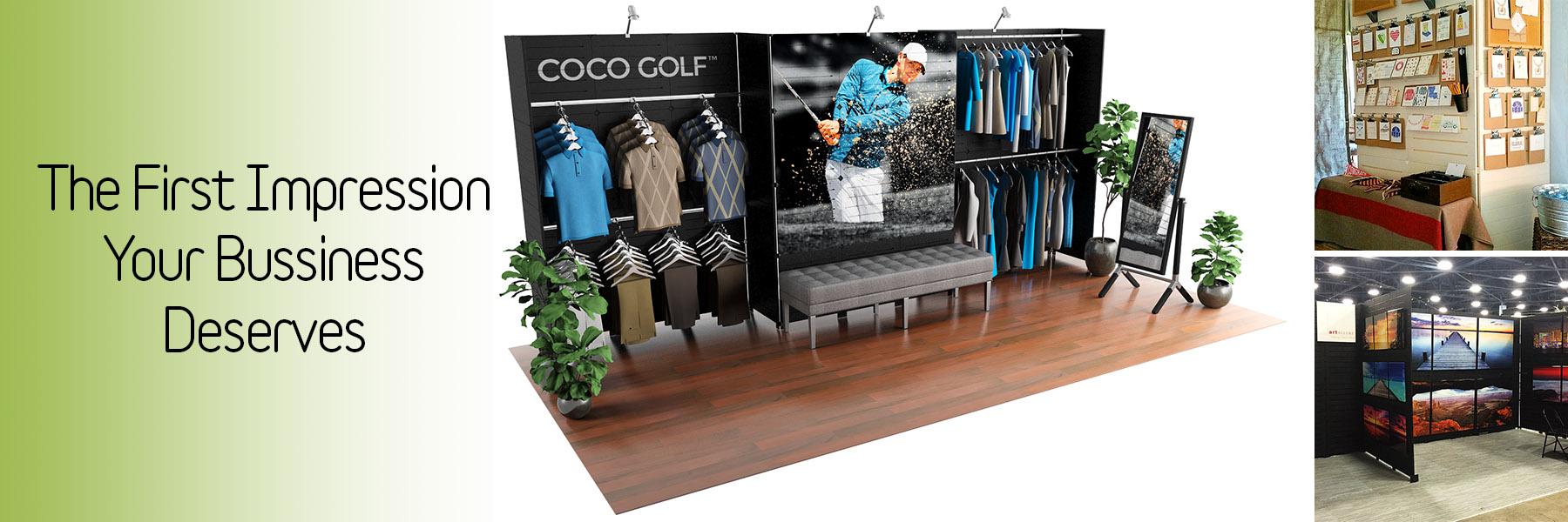 Slatwall Displays by GOGO Panels – Slide 1