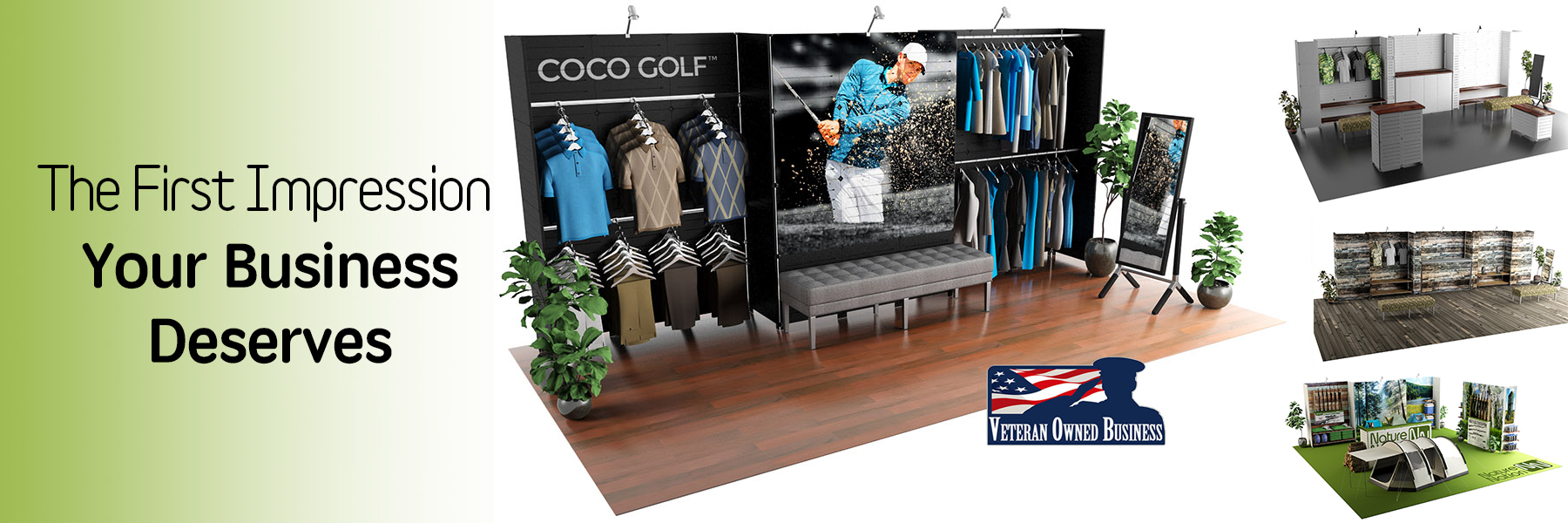 Slatwall Displays by GOGO Panels – Slide 1